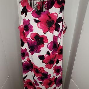 Dress Barn floral sheath dress
